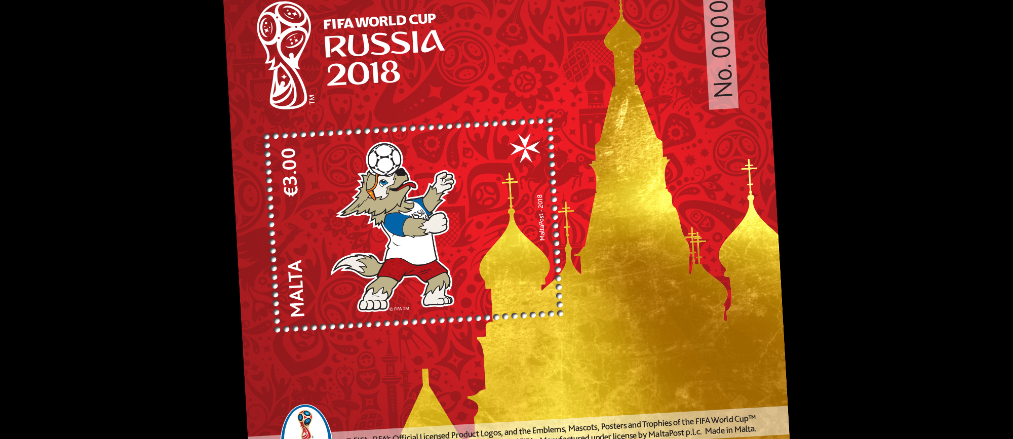 bba0481a4 Maltapost Philately - 2018 Fifa World Cup Russia™