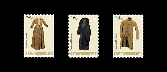 马耳他7月9日发行EUROMED2019主题地中海服饰邮票