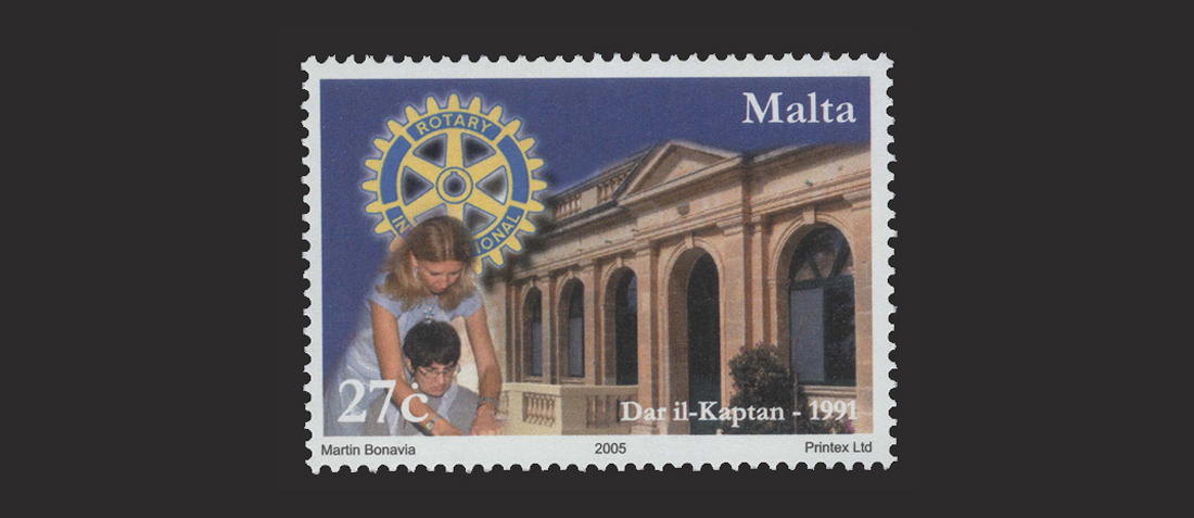 Maltapost Philately - Rotarians 2005 - 27c